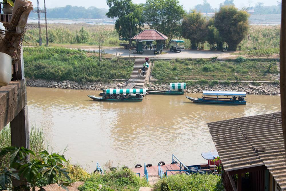 ミャンマー側船着場