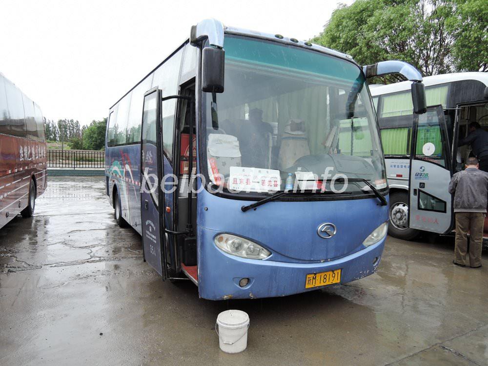 チャルチャン→チャルクリクのバス