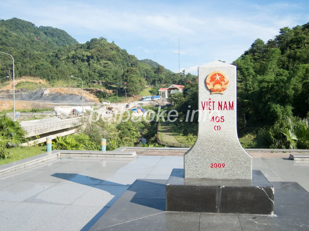 ベトナム国境石碑