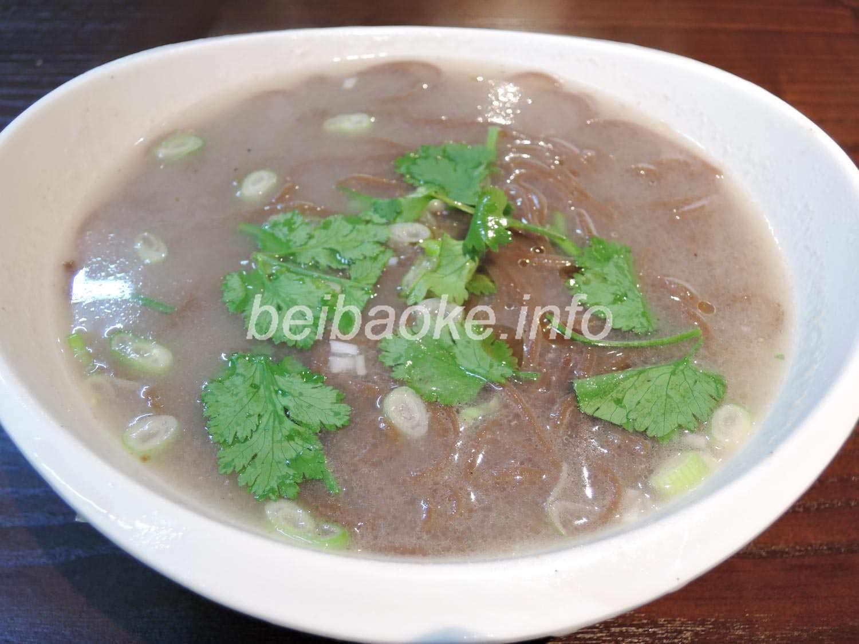 犬肉湯熱麺