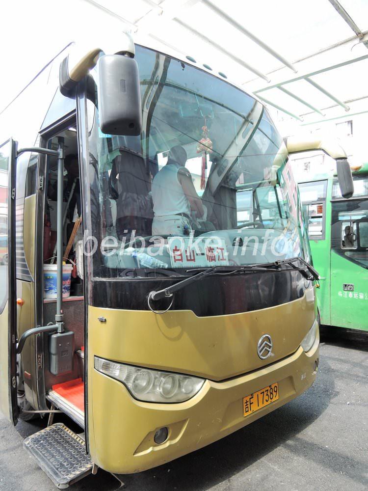 白山行きバス