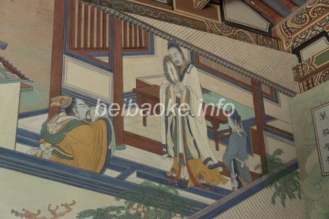 関帝廟壁画