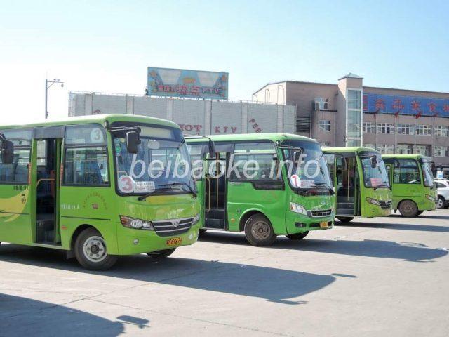 涿州の路線バス