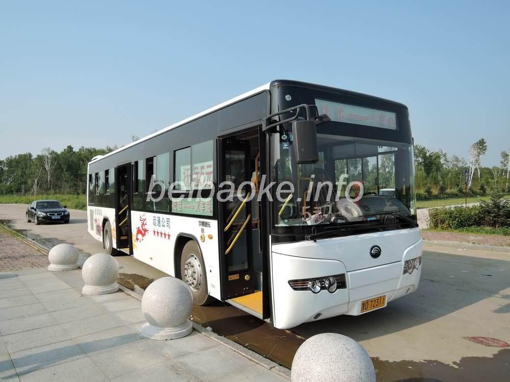 撫遠駅-バスターミナルのバス