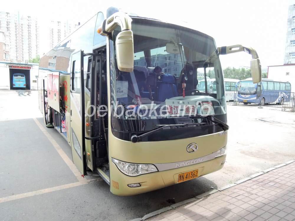 黒河→嫩江のバス
