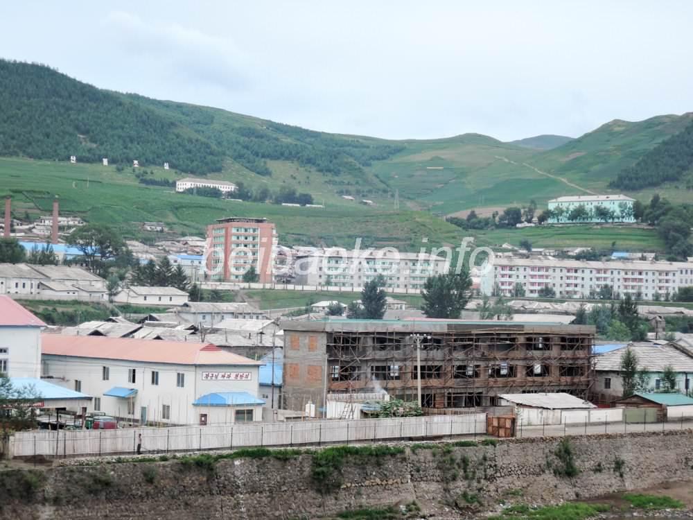 鴨緑江(対岸は北朝鮮恵山市)