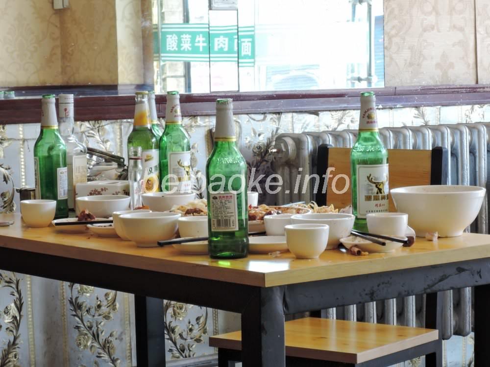 中国のテーブルマナー