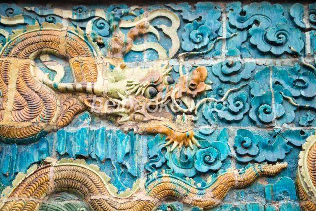 観音堂龍壁