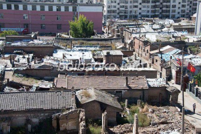 大同古城スラム街