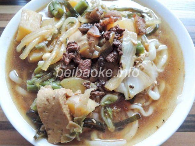 臨県小拉麺