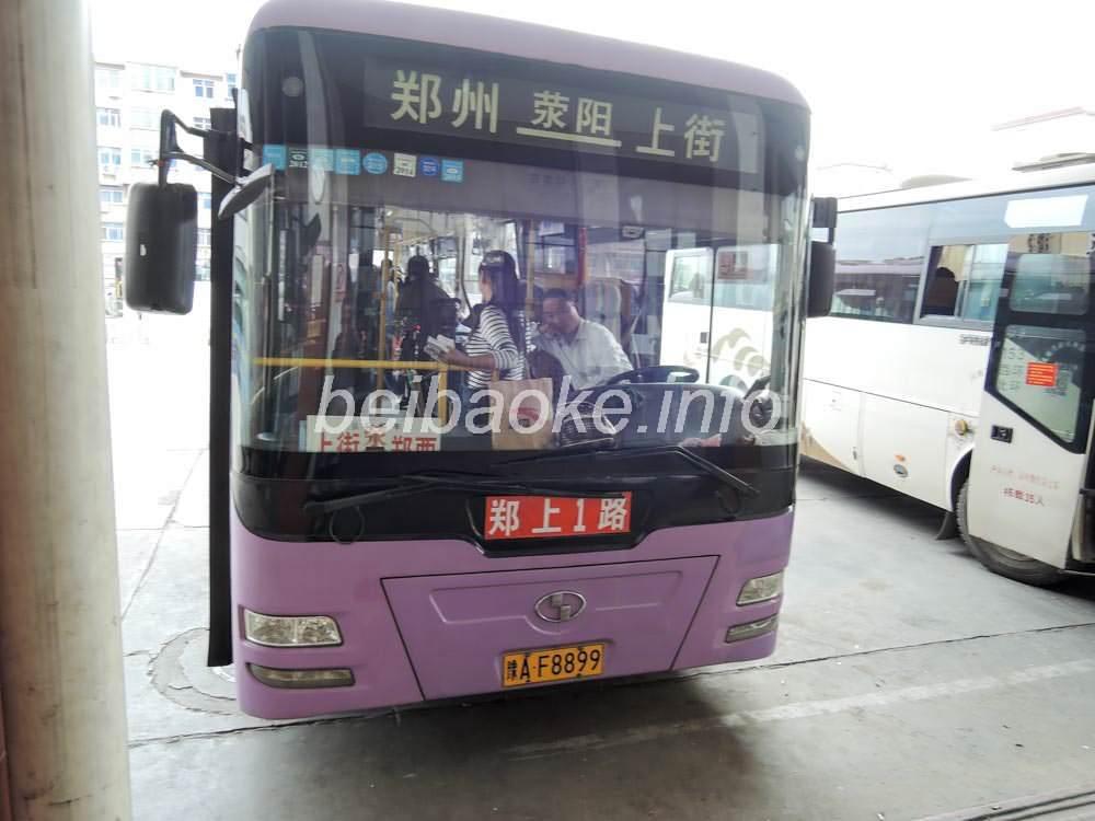 鄭上1路のバス