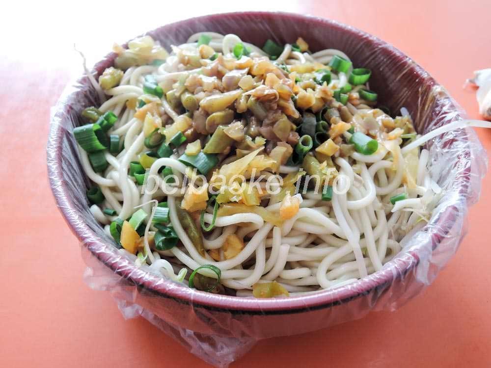 熱乾麺(民工仕様?)